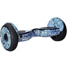Гироскутер Smart Balance NEW Premium 10.5 дюймов  леопард синий с APP и самобалансом