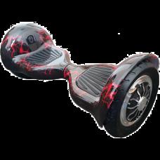 Гироскутер Smart Balance Suv Внедорожный 10 дюймов красная молния с APP и самобалансом
