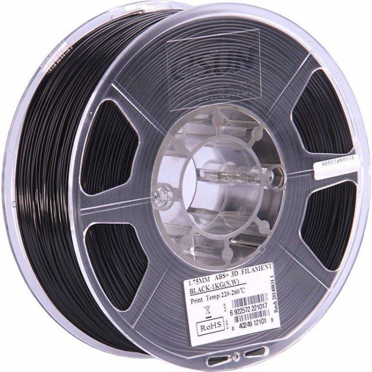 ABS пластик eSun, 1.75 мм, black, 1 кг модель  от