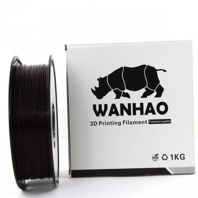 PLA пластик Wanhao, 1.75 мм, brown, 1 кг модель PLA пластик Wanhao, 1.75 мм, brown, 1 кг от Wanhao