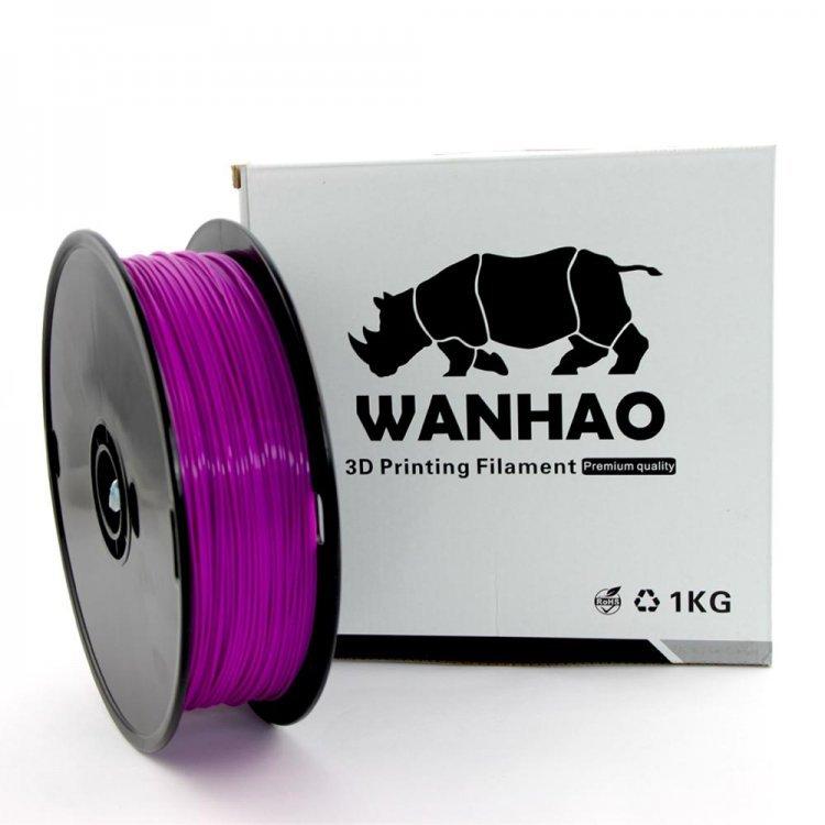 PLA пластик Wanhao, 1.75 мм, purple, 1 кг модель PLA пластик Wanhao, 1.75 мм, purple, 1 кг от Wanhao