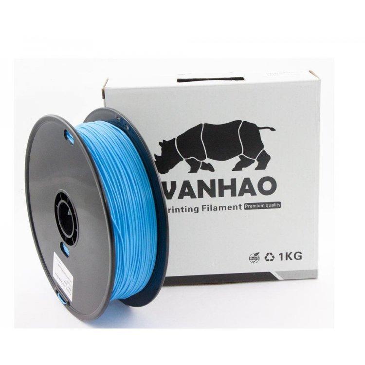 PLA пластик Wanhao, 1.75 мм, translucent blue, 1 кг модель PLA пластик Wanhao, 1.75 мм, translucent blue, 1 кг от Wanhao