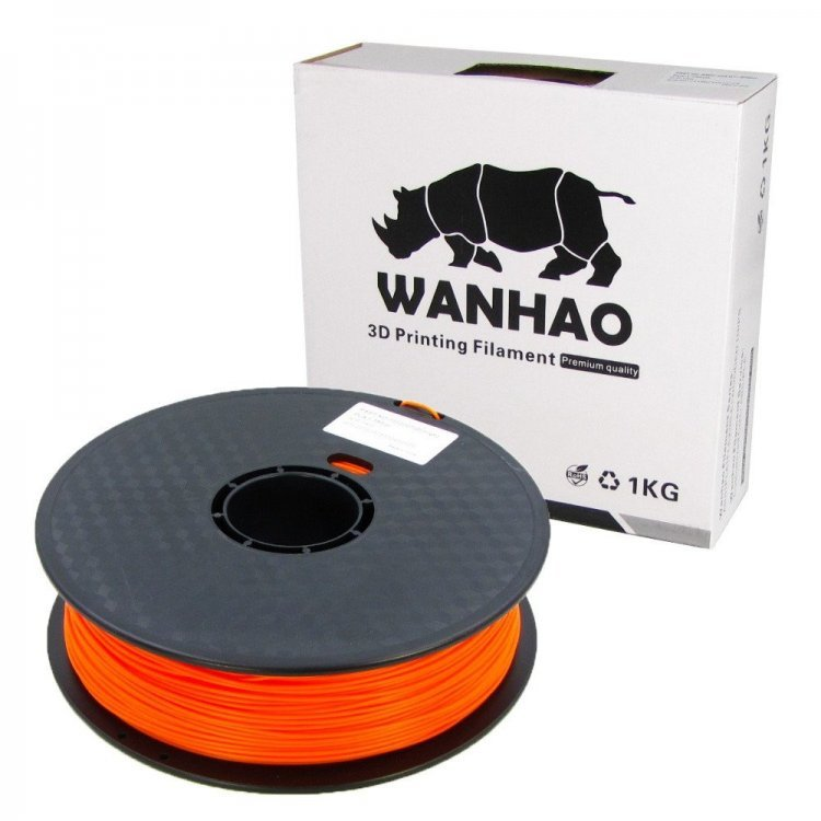PLA пластик Wanhao, 1.75 мм, translucent orange, 1 кг модель PLA пластик Wanhao, 1.75 мм, pink, 1 кг от Wanhao