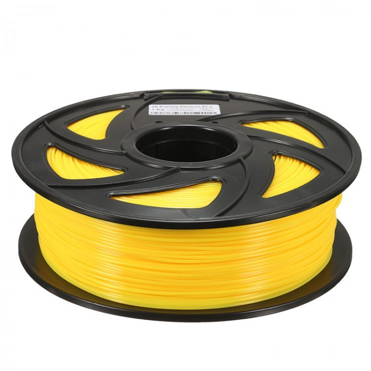 PLA пластик Wanhao, 1.75 мм, translucent yellow, 1 кг модель PLA пластик Wanhao, 1.75 мм, translucent yellow, 1 кг от Wanhao