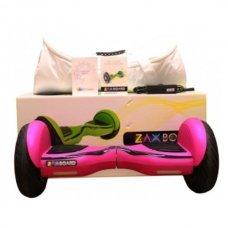 Гироскутер ZAXBOARD ZX-11 Pro 10,5 самобаланс Розовый матовый с APP и аквазащитой