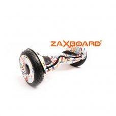 Гироскутер ZAXBOARD ZX-11 Pro 10,5 самобаланс Граффити с APP и аквазащитой модель ZAXBOARD ZX-11 Pro Граффити от ZaxBoard