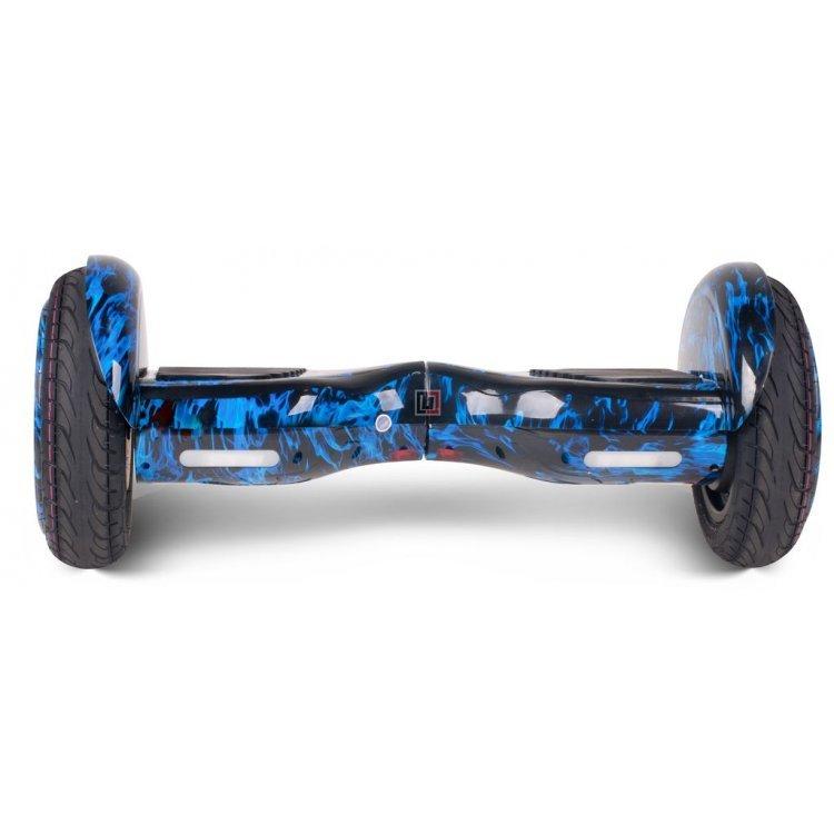 Гироскутер SB New Premium 10.5 дюймов синий огонь с колонками модель SBSUVNEWBLUEFIR от SB