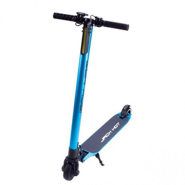 Электросамокат Jack Hot 4.4 Ah алюминиевый синий модель esjh55blue от Jack Hot