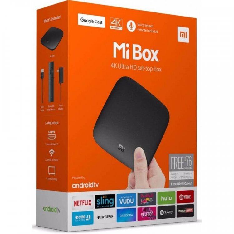 Медиаплеер Xiaomi Mi Box International Version черный модель Xiaomi Mi Box от Xiaomi