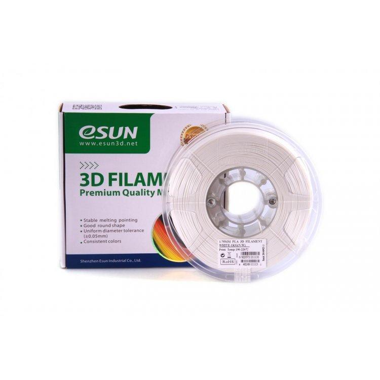 PLA+ пластик eSun, 1.75 мм, white, 1 кг модель PLA+ пластик eSun, 1.75 мм, white, 1 кг от