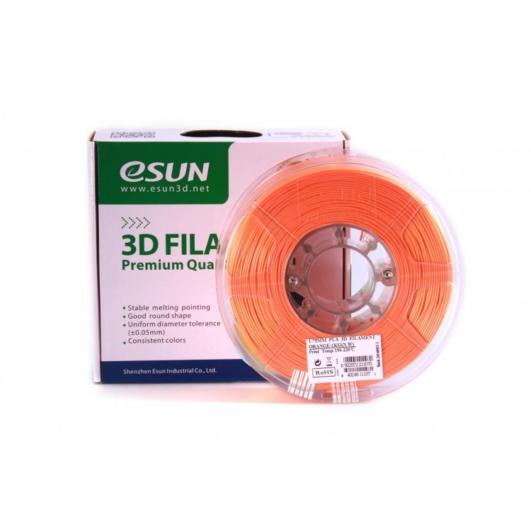 PLA+ пластик eSun, 1.75 мм, orange, 1 кг модель PLA+ пластик eSun, 1.75 мм, orange, 1 кг от