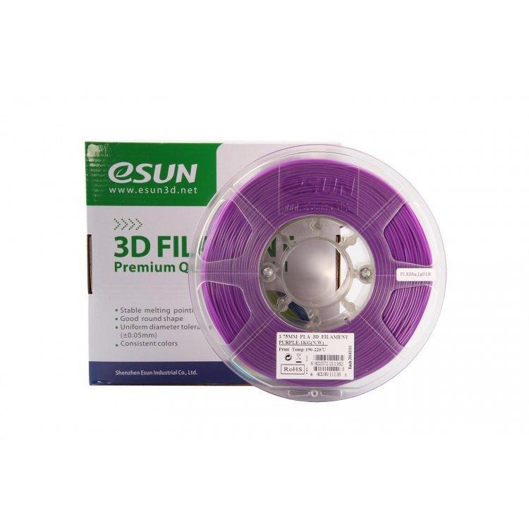 PLA+ пластик eSun, 1.75 мм, purple, 1 кг модель PLA+ пластик eSun, 1.75 мм, purple, 1 кг от