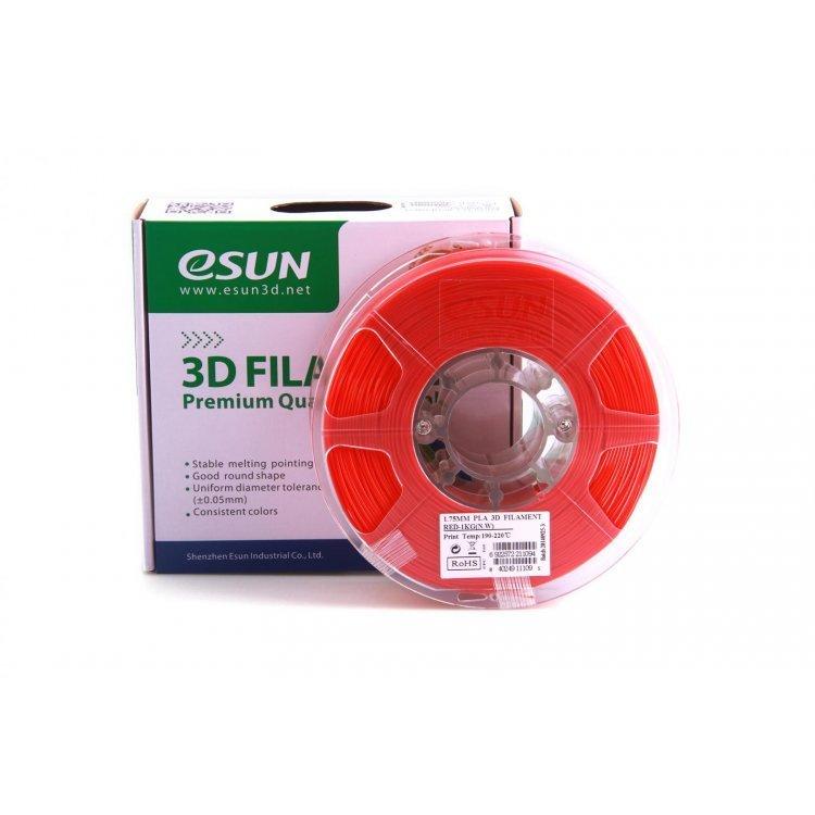 PLA+ пластик eSun, 1.75 мм, red, 1 кг модель PLA+ пластик eSun, 1.75 мм, red, 1 кг от