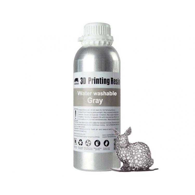 Фотополимер Wanhao, (1000ml/bottol grey) модель Фотополимер Wanhao, (1000ml/bottol grey) от Wanhao